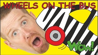 Wheels On The Bus Plus MORE Funny Stories for Children | Steve and Maggie from Wow English TV