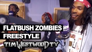 Flatbush Zombies freestyle - Westwood