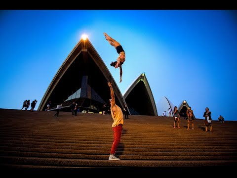 INSANE 10 MINUTE PHOTO CHALLENGE WITH CIRQUE DU SOLEIL IN AUSTRALIA Don t try this