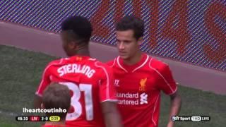 Philippe Coutinho vs Borussia Dortmund