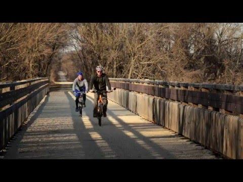 Hike or Bike the Prairie Spirit Trail