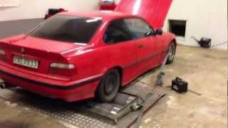 Fartverket - Dynodags: Tobbes BMW 318is Turbo