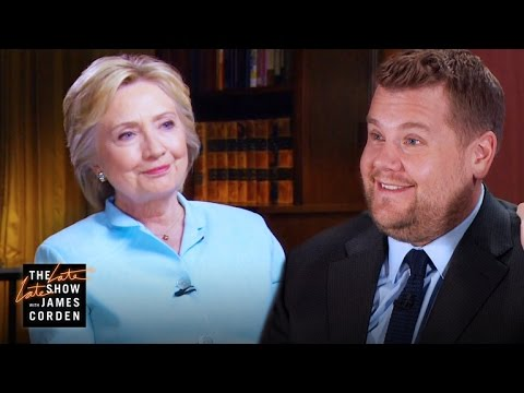 James Corden s 60 Minutes Interview w Hillary Clinton