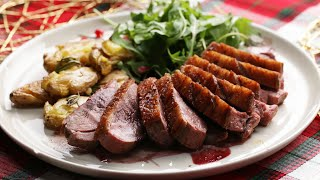 Seared Duck Breast And Potatoes