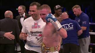 BRUTAL DISPLAY: TED CHEESEMAN vs ASINIA BYFIELD - FIGHT REVIEW!! NO FOOTAGE!
