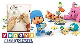 Pocoyo Arts & Crafts: Quebra-cabeça de Pocoyo e amigos