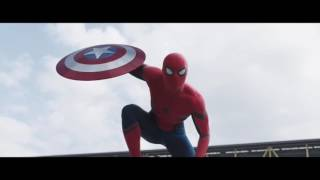 All SpiderMan footage we've seen from Captain America Civil War TV spots/Trailers