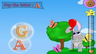 Kids Learning alphabet A to Z with ABC Song Educational game for kids - part 2