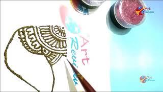 EID Fastival special easy henna mehndi designs for hands Ramadan 2018 Part I