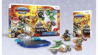 Unboxing - Skylanders Superchargers Racing Wii [PT-BR]
