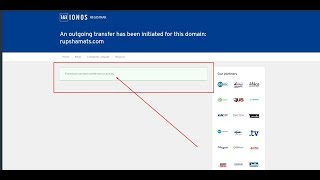 How to transfer a domain from 1&1 to Namecheap or another domain registrar ionos