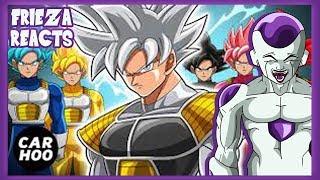 FRIEZA REACTS TO GOKU SAIYAN RANGERS 2 - THE ATTACK OF JIREN [ Dragon Ball Super Fan Animation ]