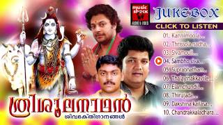 Hindu Devotional Songs Malayalam | Trishoolanadhan | Shiva Devotional Songs | Audio Jukebox
