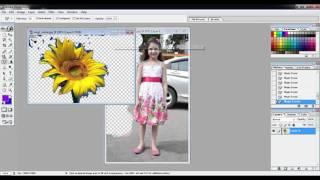 Adobe Photoshop7.0 Tutorials Video in Hindi Part 9 of 24 Use of Eraser Paint Bucket & Gradient Tools