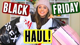 Early BLACK FRIDAY Haul 2017 & Try On! Black Friday Shopping Deals!