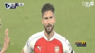 اهداف مباراة ارسنال وإيفرتون 2 1 كاملة 2015 10 24 فهد العتبيي HD