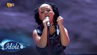 Top 8 Reveal: Thando - 'As Long As You Love Me' –  Idols SA | Mzansi Magic