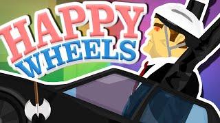Happy Wheels   EVIL DAD ATTACKS!!