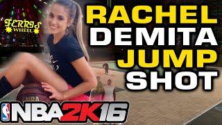 NBA2K16 - Rachel Demita Jump shot Challenge