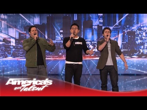 Opera Trio Forte Perform for the First Time Ever - America's Got Talent