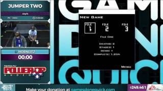Jumper Two by Hornlitz in 0:22:04 - SGDQ2016 - Part 61