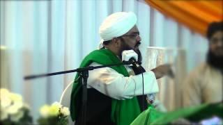 Allama Syed Muzaffar Shah Qadri sb @ Faridul Islam Amsterdam