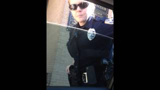 Illegal Stop By UNCPD's Officer Boone