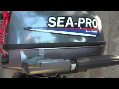 мотор sea pro f5s видео