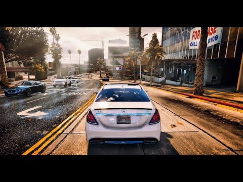 ► GTA 6 Graphics - ✪ REDUX - Cars Gameplay! Ultra Realistic Graphic ENB MOD PC - 60 FPS - 1080p