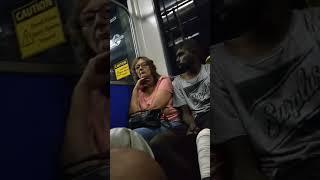 Crazy Aboriginal Starts Fights On Adelaide Bus