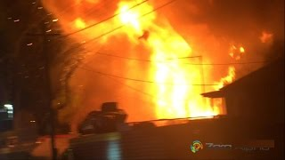 Boondall Auto Recyclers Fire - Wreckers Car Yard Arson Attack