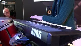 Marco Parisi Korg Pa600 Demo Frankfurt Music Messe 2012 - Parte Seconda