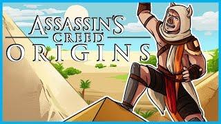 EXPLORING THE GREAT PYRAMIDS OF GIZA!! - Assassin