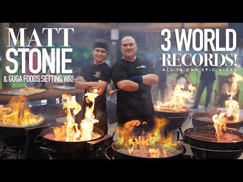 3 World Records of Olive Wagyu Steaks Ft. Matt Stonie
