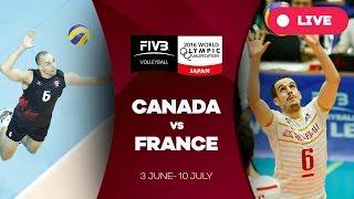 Canada v France - 2016 Men