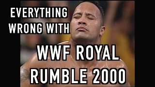 Episode #207: Everything Wrong With WWF Royal Rumble 2000