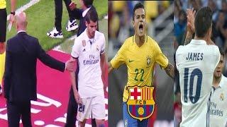 Morata deja en RIDÍCULO a Zidane| Coutinho cerca de fichar por el Barca | Guardiola elogia a James
