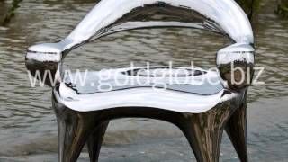 steel stainless art sculpture furniture