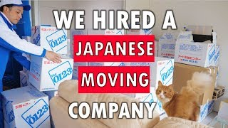 We Hired A Japanese Moving Company!