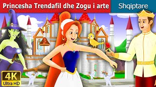 Princesha Trendafil dhe Zogu I arte | Perralla per femije | Kukulla per femije shqip| Perralla Shqip