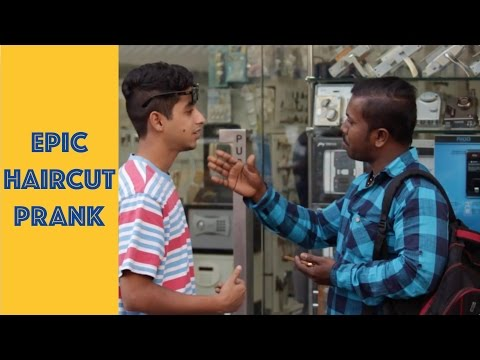 Epic HAIRCUT Prank | Super Desi People ( Pranks in India)
