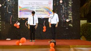 Best ever Laziest and funniest dance by naman and kunal.. Farewell'16