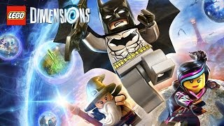 LEGO Dimensions All Cutscenes (Game Movie) Full Story 1080p HD