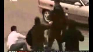 ضرب ملاكم تركي مع اشخاص