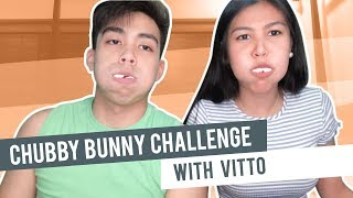 Chubby Bunny challenge ft. Hashtag Vitto!