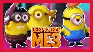 TOY PLAY - Minions Fire Kevin And Gru Into Space 🍌 Despicable Me 3 Movie 🍌 Toyshop - Toys For Kids