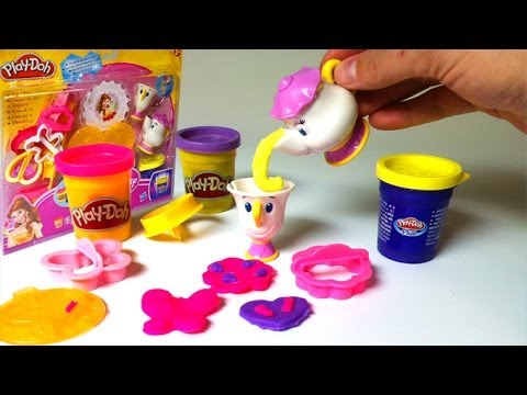 Xxx Mp4 Play Doh Belle Magical Tea Party Playset Disney Princess Beauty And The Beast Playdough 3gp Sex