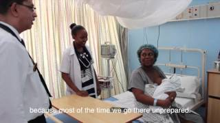 mHealth Tanzania PPP: Healthy Pregnancy, Healthy Baby SMS Service - Mom