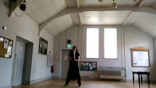 Sifu Ben Ede MuiFaa WingChun Butterfly Knives excersise