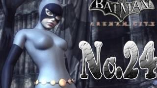 Batman arkham city - Catwoman goes after Puke Face